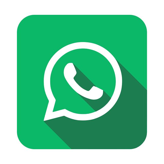 green logo of whatsapp